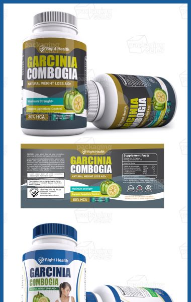 Garcinia Supplement label