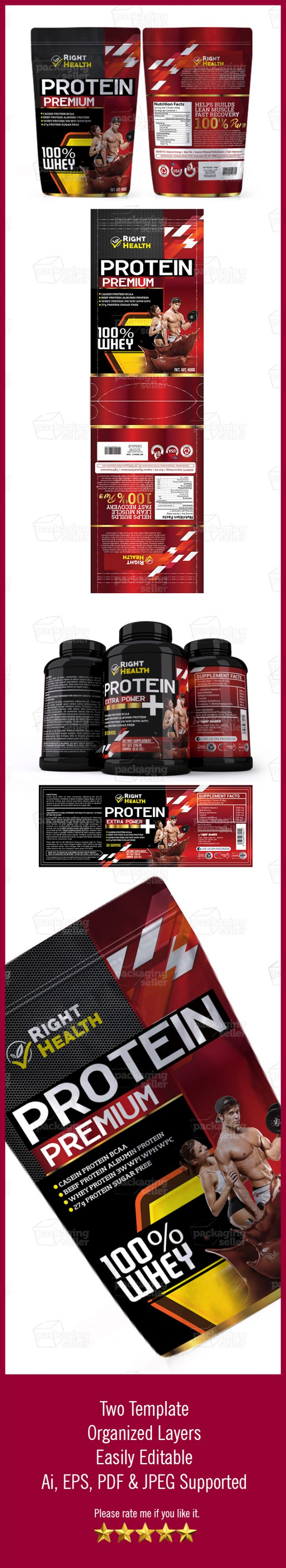 Supplement-Label-Template