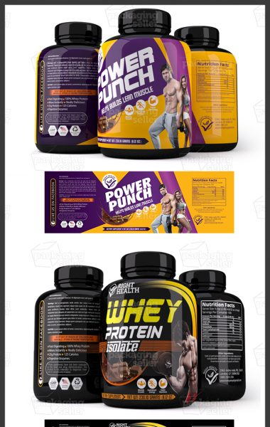 Label, Whey protein, Supplement Label