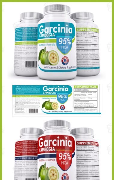 Garcinia Cambogia Supplement Label Template Vol-147-Preview