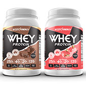 Whey Protein Supplement Label Template AS-19