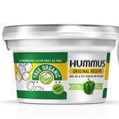 Hummus Spread Label Template Design